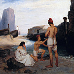 Franz Ludwig Catel - Fishermen on Capri