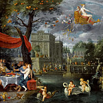 Allegory of peace , Jan Brueghel the Younger