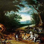Sleeping nymphs and satyrs, Jan Brueghel the Younger