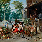 Jan Brueghel the Younger - Allegory of the smell