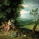 Allegory of the earth, Jan Brueghel the Younger