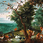 Garden of Eden, Jan Brueghel the Younger