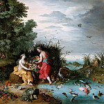 Uffizi - Allegory of Earth and Water