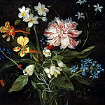 Jan Brueghel the Younger - Bouquet of Flowers in a Vase