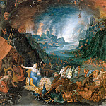 Jan Brueghel the Younger - Juno in the Underworld
