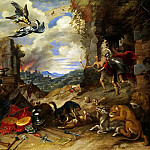 Allegory of war, Jan Brueghel the Younger