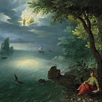 Saint John the Evangelist at Patmos, Jan Brueghel the Younger