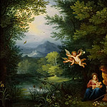 Jan Brueghel the Younger - Rest on the Flight into Egypt