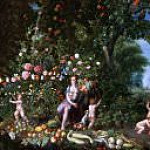 Jan Brueghel the Younger - Cornucopia