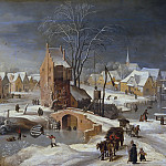 Winter landscape, Jan Brueghel the Younger