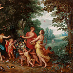Allegory of Abundance, Jan Brueghel the Younger