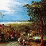 Jan Brueghel the Younger - Landscape with a Mill
