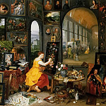 Jan Brueghel the Younger - Allegory of Arts