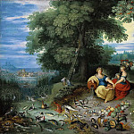 Jan Brueghel the Younger - An Allegory of Water and Earth