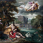 Jan Brueghel the Younger - Allegory of Love