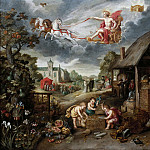 An Allegory of War and Peace, Jan Brueghel the Younger