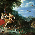Jan Brueghel the Younger - Earth and water