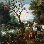 Jan Brueghel the Younger - Entry into Noah's Ark
