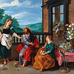 Christ in the House of Martha and Mary, Jan Brueghel the Younger