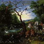 The entry of the animals in Noah's Ark, Jan Brueghel the Younger