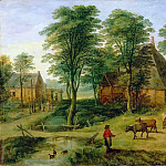 Farmyard, Jan Brueghel the Younger