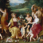 Jan Brueghel the Younger - Allegory of fruitfulness