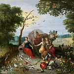 Jan Brueghel the Younger - Allegories of the Four Elements