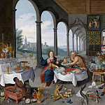 Jan Brueghel the Younger - Allegory of taste