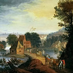 Jan Brueghel the Younger - Country Landscape