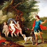 Diana and Actaeon, Jan Brueghel the Younger
