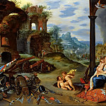 Jan Brueghel the Younger - Allegory of war