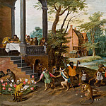 Jan Brueghel the Younger - Tulipomania