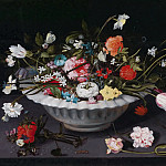 A still life of flowers, Jan Brueghel the Younger