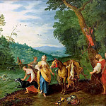 Jan Brueghel the Younger - Diana on the hunt