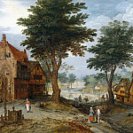 Country Landscape, Jan Brueghel the Younger