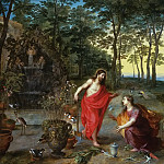 Noli me tangere, Jan Brueghel the Younger
