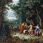 Jan Brueghel the Younger - VENUS, CERES AND BACCHUS