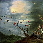 Jan Brueghel the Younger - Allegory of the air