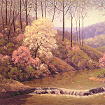 Spring cascade, Dale Bessire