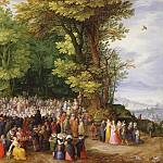 Jan Brueghel The Elder - St. John the Baptist Preaching