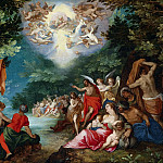 Jan Brueghel The Elder - The Baptism of Christ