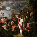 Wedding of Poseidon and Amphitrite, Jan Brueghel The Elder