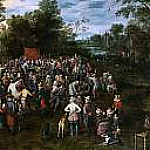 Jan Brueghel The Elder - Banquete de bodas