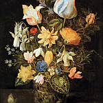 Still Life with Flowers, Jan Brueghel The Elder