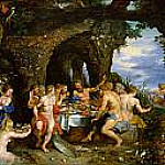 Jan Brueghel The Elder - The Feast of Acheloüs