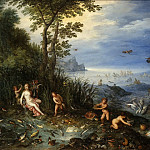 Jan Brueghel The Elder - Allegory of Water