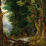 Jan Brueghel The Elder - Forest Landscape