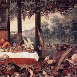 Allegory of taste, Jan Brueghel The Elder