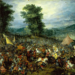 Jan Brueghel The Elder - Battle of Issus