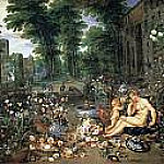 El Olfato, Jan Brueghel The Elder
